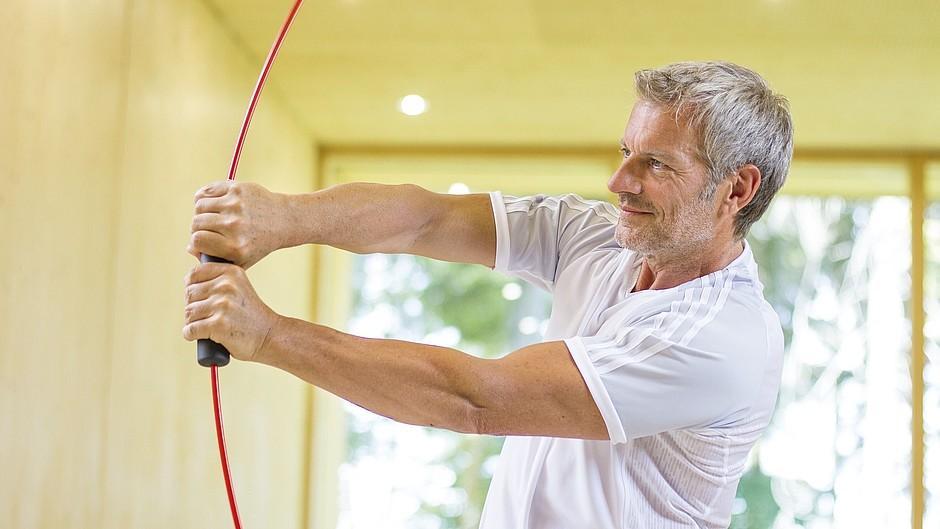 Shoulder supports medi archery