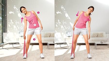 Extension latérale : exercice pour renforcer les muscles latéraux du tronc