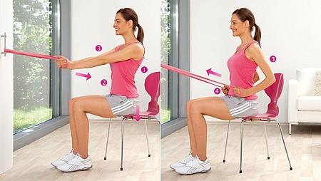 Extension de la hanche : exercice pour renforcer les muscles dorsaux / le muscle grand dorsal