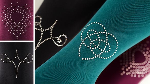 Une touche glamour avec Swarovski® crystals