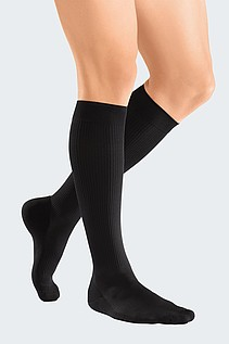 mediven active France compression stockings black medi